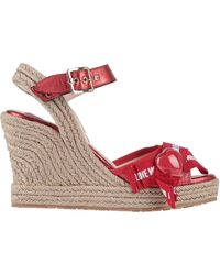 Love Moschino Espadrilles - Red