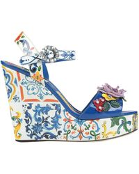 Dolce & Gabbana Sandale - Blau