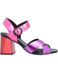 Sixtyseven Sandals - Purple