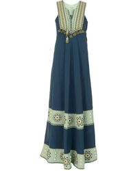 Talitha Long Dress - Blue