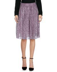 Adele Fado - Knee Length Skirts - Lyst