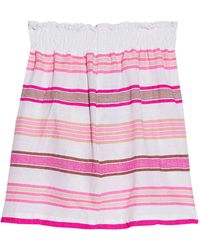 lemlem Mini Skirt - Pink