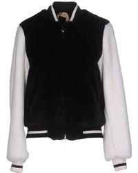 N°21 Faux Fur - Black