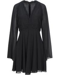 Giamba Short Dress - Black