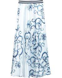 Relish Long Skirt - White