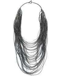 Brunello Cucinelli Necklace - Black