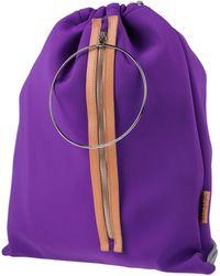 MM6 by Maison Martin Margiela Backpacks & Bum Bags - Purple