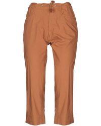 Romeo Gigli 3/4-length Pants - Brown
