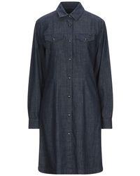Belstaff Short Dress - Blue