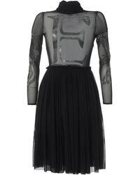John Richmond Midi Dress - Black