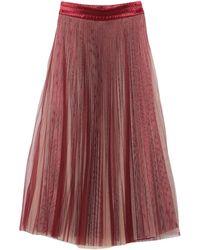 Sfizio Falda larga - Rojo