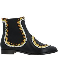 Charlotte Olympia Ankle Boots - Black