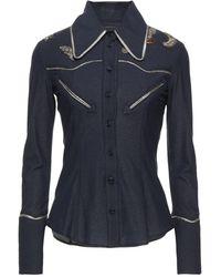 Frankie Morello Shirt - Blue