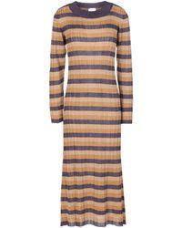 ViCOLO Knee-length Dress - Purple