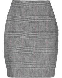 Lardini Knee Length Skirt - White