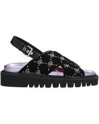 Blumarine Sandals - Black