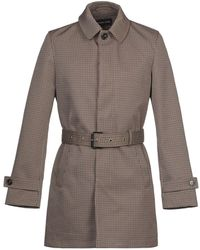 Michael Kors Overcoat - Multicolor