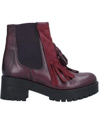 Inuovo Ankle Boots - Purple