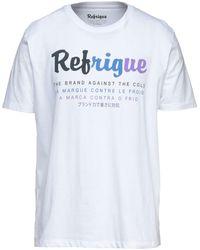 Refrigue Camiseta - Blanco