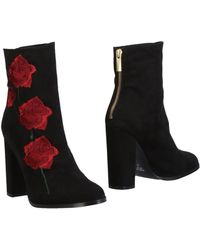 INTENTIONALLY ______ Ankle Boots - Black