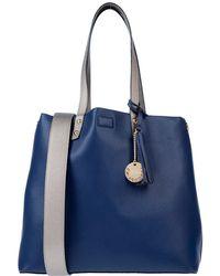 Blue Les Copains Handbag - Blue