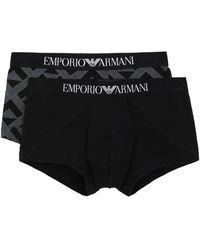 Emporio Armani Boxershorts - Schwarz