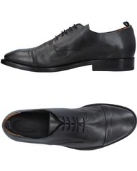 Buttero Lace-up Shoe - Gray