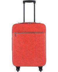 Stella McCartney Wheeled Luggage - Orange