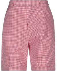 TRUE NYC Shorts & Bermuda Shorts - Red