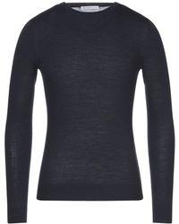 Grey Daniele Alessandrini Pullover - Blau