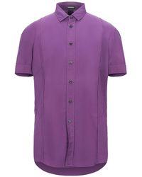 Dirk Bikkembergs Shirt - Purple