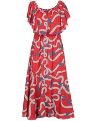 Care Of You Knee-length Dress - Red