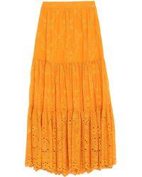 Trussardi Long Skirt - Orange