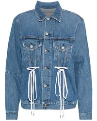 Proenza Schouler Denim Outerwear - Blue