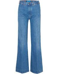M.i.h Jeans Denim Trousers - Blue