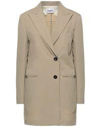 Hache Suit Jacket - Natural