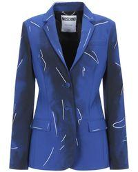 Moschino Blazer - Blue