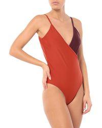 Gestuz One-piece Swimsuit - Red