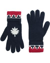 DSquared² - Nordic Knit Wool Gloves - Lyst