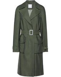 8 by YOOX Overcoat - Green