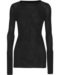 Enza Costa Jumper - Black