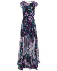Liu Jo Midi Dress - Blue