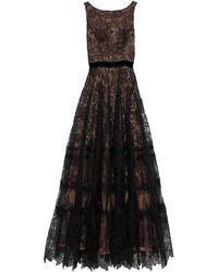 Costarellos Long Dress - Black