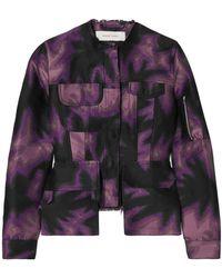 Marques'Almeida Jacket - Purple