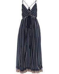Chloé Long Dress - Blue