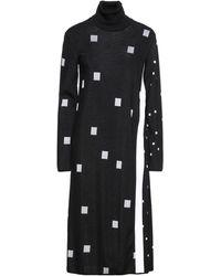 Iceberg Midi Dress - Black