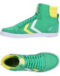 Hummel Sneakers & Tennis montantes - Vert