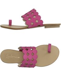 Guilhermina - Toe Strap Sandal - Lyst