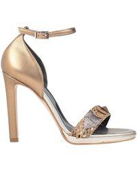 Divine Follie Sandals - Metallic