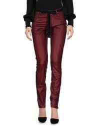 Twin Set Pantalone - Rosso